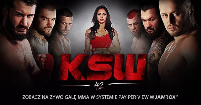 KSW 42 na żywo 3 marca!